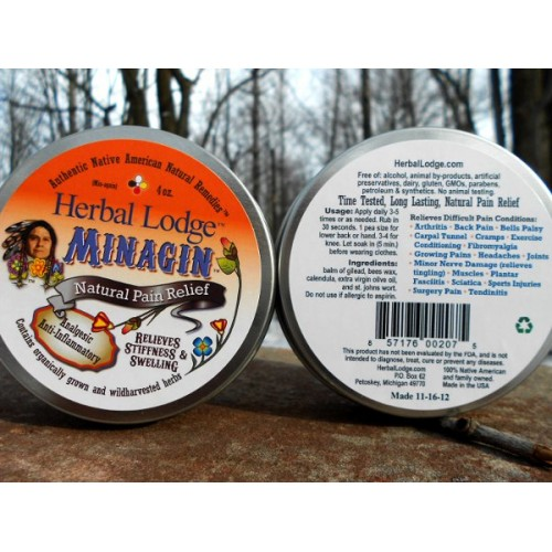 Minagin Pain Relief Salve