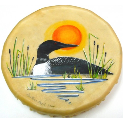 Small Painted Hand Drums