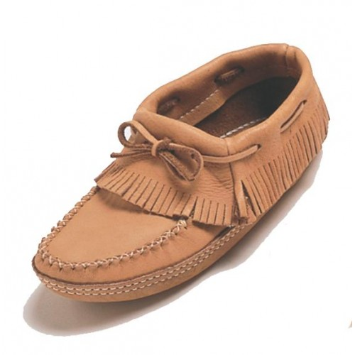 Moosehide Ankle Moccasins