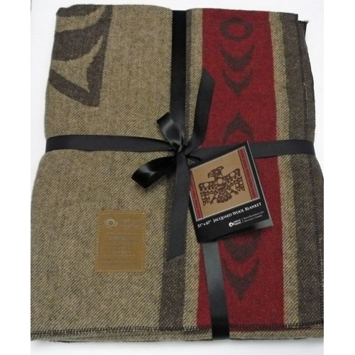 Jacquard Wool Blanket