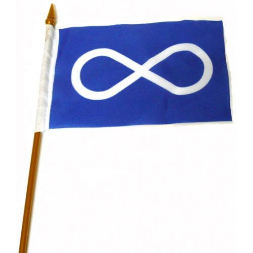 Small Blue Metis Flag