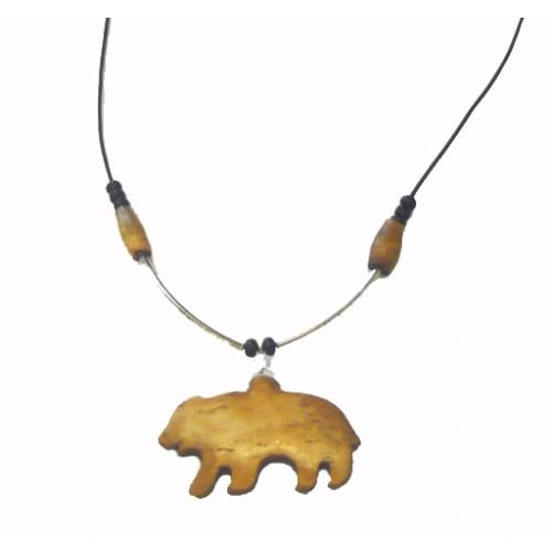 Bone Bear Pendant