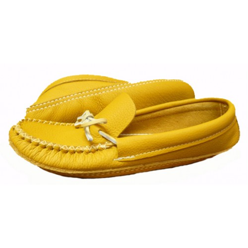 Mens Honey Tan Moccasins