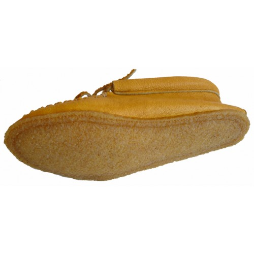 Ladies Loafer Style Moosehide Moccasins
