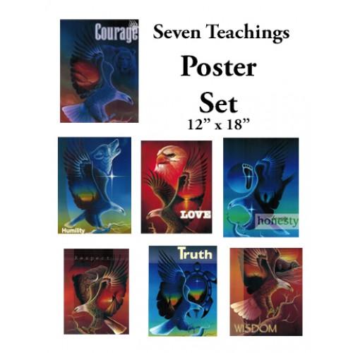 Spirit Animal Seven Teachings Poster Set