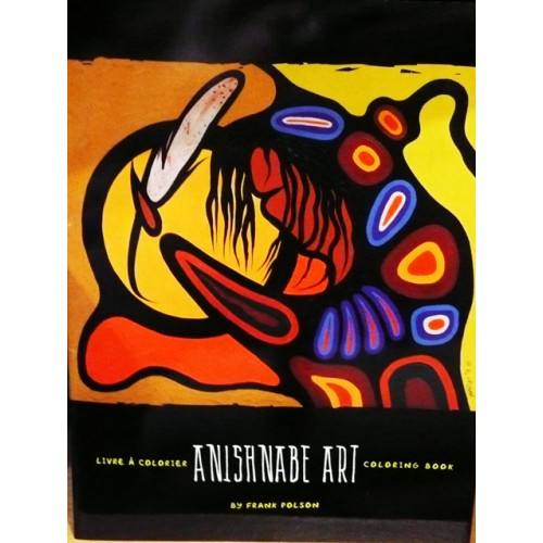 Anishnabe Art Colorng Book