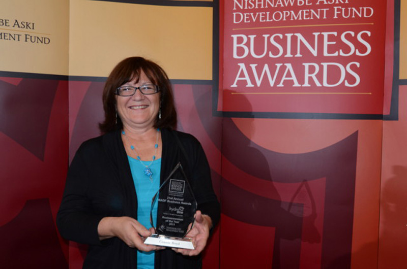 Silver Moccasin Business Woman of the Year
