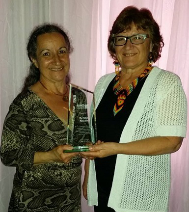 Silver Moccasin Award