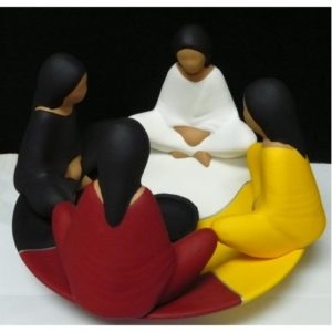 Circle of Friends Candle Holder
