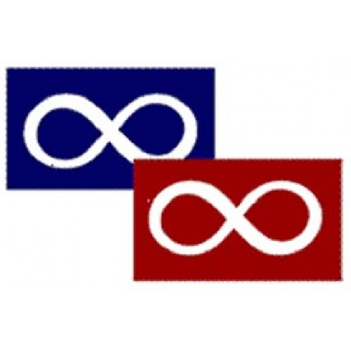 Large Metis Flag