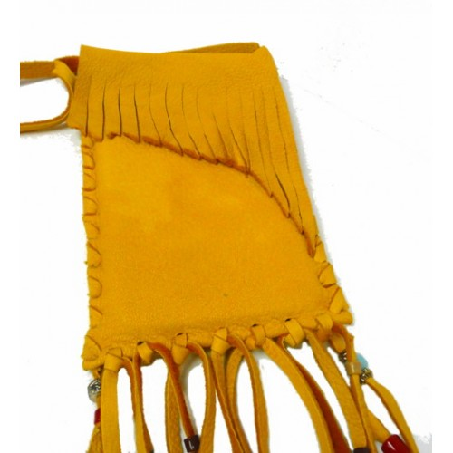 Small Deerskin Bag