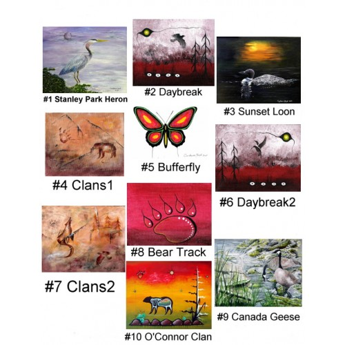 Series 2 Artcards by Constance Boyd