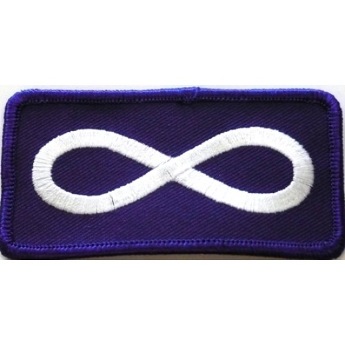 Metis Flag hair Barrette