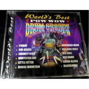 World's Best Powwow Drum Groups CD