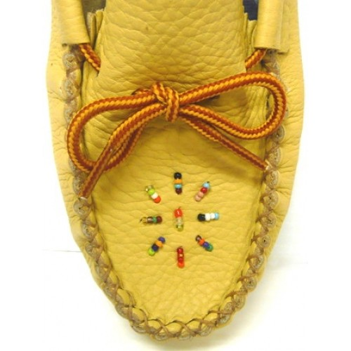 Ladies Moccasins With Soles