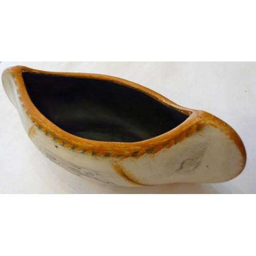 Mini Ceramic Canoe