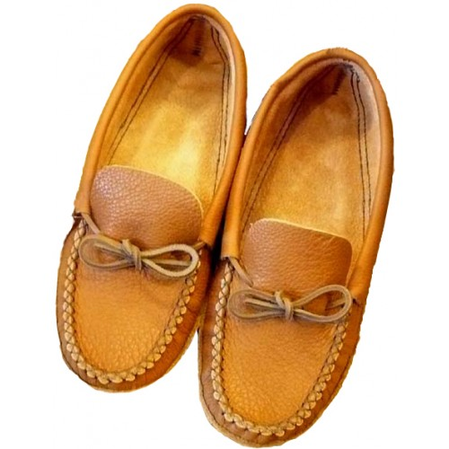 Mens Bullhide Leather Moccasins