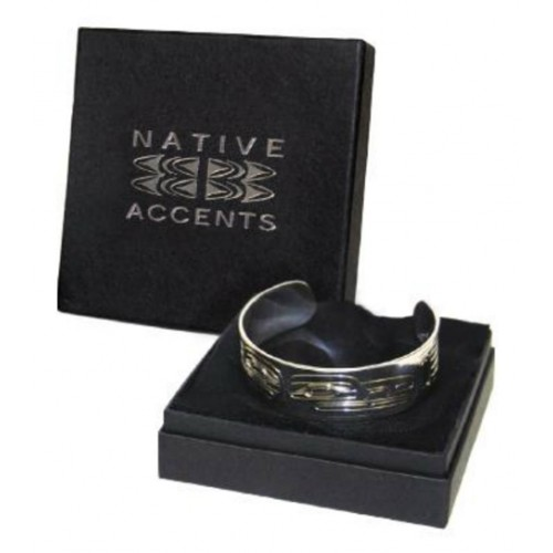 Silver Raven Bracelet