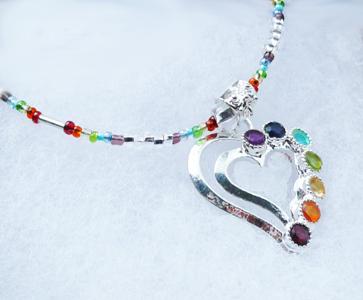 Chakra pendant necklace mozeypictures Choice Image